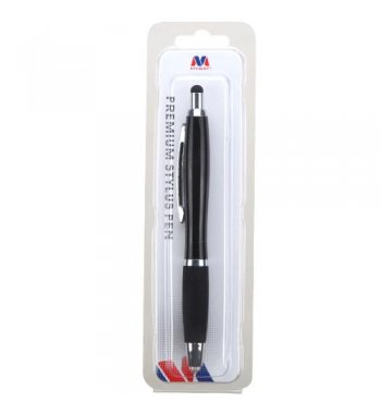Black Stylus Pen-80 (with ball-point pen and flashlight)