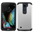 LG K10 Silver/Black Astronoot Phone Protector Cover