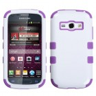 Samsung Galaxy Ring Ivory White/Electric Purple Hybrid Case