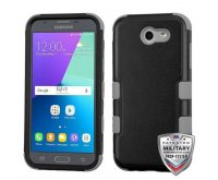 Natural Black/Iron Gray Hybrid Phone Protector Cover [Military-Grade Certified]