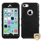 Apple iPhone 5c Carbon Fiber/Black Hybrid Case