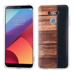 LG G6 Wood Grain Candy Skin Cover