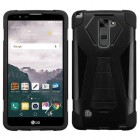 LG LG G Stylo 2 Plus Black Inverse Advanced Armor Stand Protector Cover