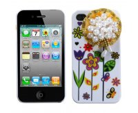 Lace Sunflower PomPon Flower Back Protector Cover (