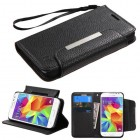 Samsung Galaxy Core Prime Black Wallet