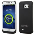 Samsung Galaxy S6 mAh Rubberized Black Quantum Energy Battery Case