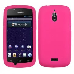 Huawei Vitria Solid Skin Cover - Hot Pink
