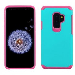 Samsung Galaxy S9 Plus Teal Green/Hot Pink Astronoot Phone Case