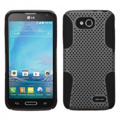 LG Optimus L90 Gray/Black Astronoot Case