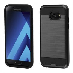 Samsung Galaxy A5 Black/Black Brushed Hybrid Case