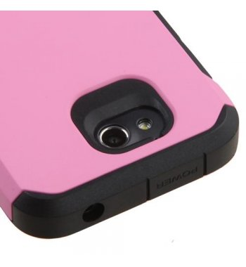ZTE Maven / Overture 2 / Fanfare Pink/Black Astronoot Phone Protector Cover