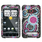 HTC EVO 4G Bubble Diamante Protector Cover