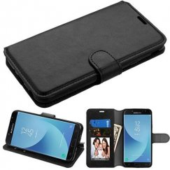 Samsung Galaxy J7 Black Wallet(with Tray) -NP