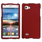 LG Optimus 4X HD Titanium Solid Red Phone Protector Cover