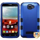 Alcatel One Touch Fierce 2 Titanium Dark Blue/Black Hybrid Phone Protector Cover