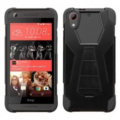 HTC Desire 626 Black Inverse Advanced Armor Stand Case