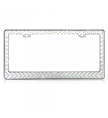 Modern Arrows Diamond License Plate Frame