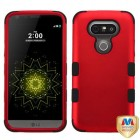 LG G5 Titanium Red/Black Hybrid Phone Protector Cover