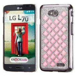 LG Optimus L70 Pink Desire Back Case