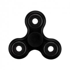 Black Circles Triangle Spinner