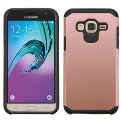 Samsung Galaxy J3 Rose Gold/Black Astronoot Case