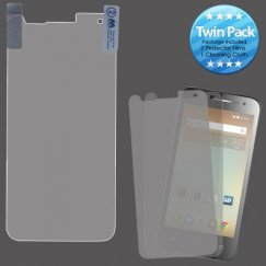 Alcatel Ideal / Streak / Dawn / Acquire Screen Protector Twin Pack