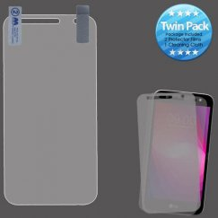 LG X Power 2 Screen Protector Twin Pack
