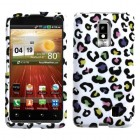 LG Spectrum Colorful Leopard Phone Protector Cover