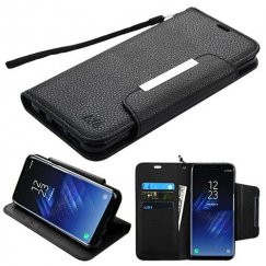 Samsung Galaxy S8 Plus Black Wallet