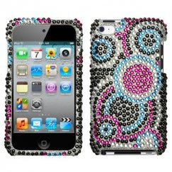 Apple iPod Touch (4th Generation) Bubble Diamante Case