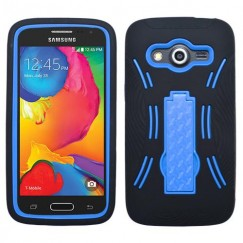 Samsung Galaxy Avant Dark Blue/Black Symbiosis Stand Case