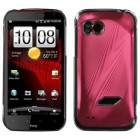 HTC Rezound Red Cosmo Back Protector Cover
