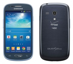 Samsung Galaxy S3 Mini 8GB SM-G730V Android Smartphone for Verizon - Blue