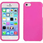 Apple iPhone 5c Rubberized Plastic Protector Case in Pink