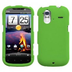 HTC Amaze 4G Dr Green Case - Rubberized