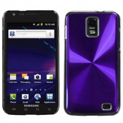 Samsung Galaxy S2 Skyrocket Purple Cosmo Back Case