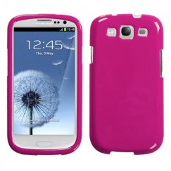 Samsung Galaxy S3 Solid Hot Pink Case