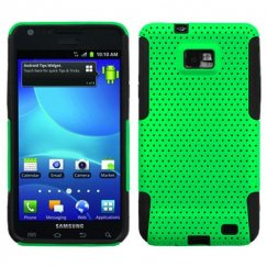 Samsung Galaxy S2 Green/Black Astronoot Case