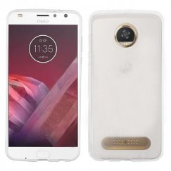 Motorola Moto Z2 Play Glossy Transparent Clear Candy Skin Cover