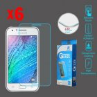 Samsung Galaxy J7 Tempered Glass Screen Protector (2.5D)(6-pack)
