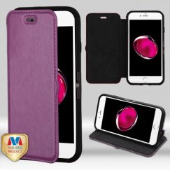 Apple iPhone 7 Plus PurpleWallet with Natural Black/Black Tray
