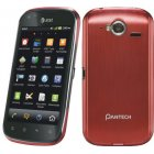 Pantech Burst P9070 16GB Android Smartphone - ATT Wireless - Ruby Red