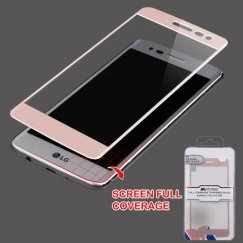 Full Coverage Tempered Glass Screen Protector/Rose Gold