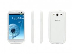 Samsung Galaxy S3 III Griffin Reveal Case - Clear/White