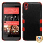 HTC Desire 626 Natural Black/Red Hybrid Phone Protector Cover