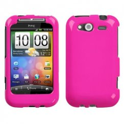 HTC Wildfire S Solid Shocking Pink Case