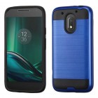 Motorola Moto E3 Dark Blue/Black Brushed Hybrid Case