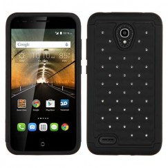 Alcatel One Touch Conquest Black/Black FullStar Case