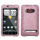 HTC EVO 4G Pink Diamante Protector Cover(Diamante 2.0)
