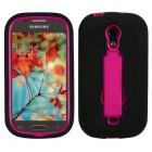 Samsung Galaxy Light Hot Pink/Black Symbiosis Stand Case